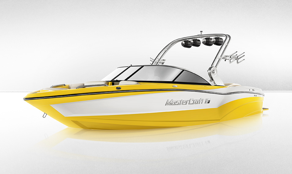 The MasterCraft XT21 is a terrific option for those who want to rent a wakeboard boat with the high-end performance.