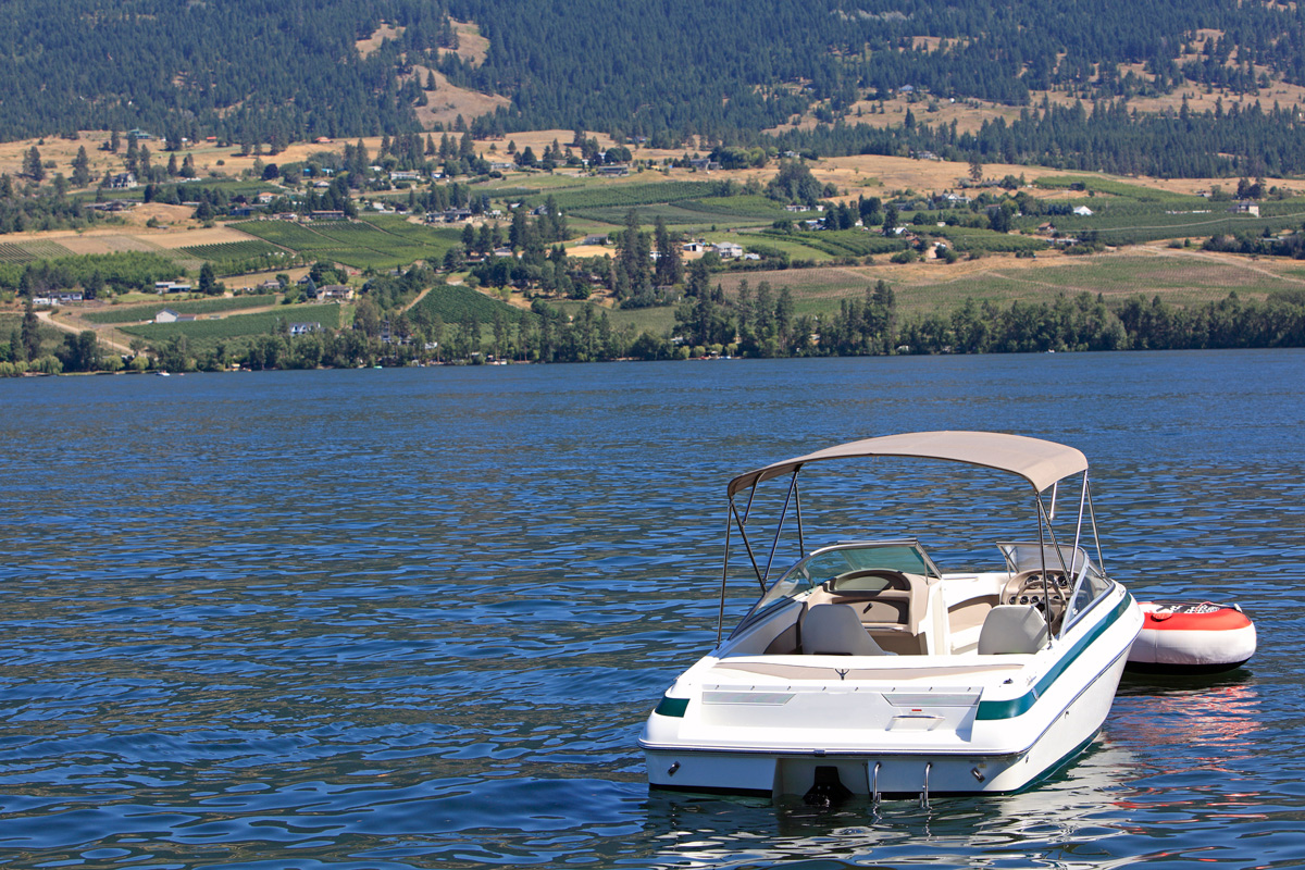 Explore Okanagan Lake with your Boat Rentals with Vacation Rentals